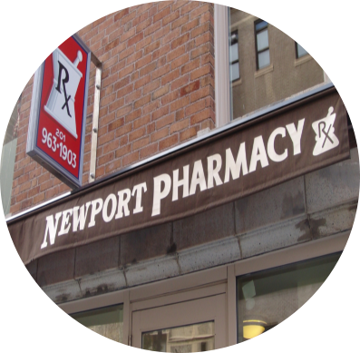 Newport Pharmacy store signage