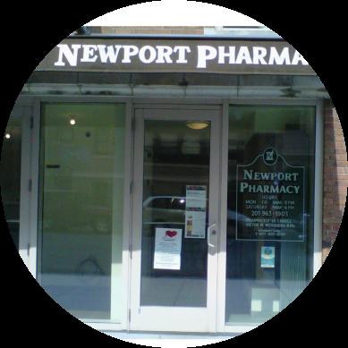 Newport Pharmacy front door